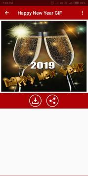 Happy New Year GIF 2019 screenshot 3