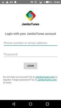 JamboTunes screenshot 2