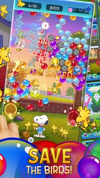Bubble Shooter: Snoopy POP! - Bubble Pop Game تصوير الشاشة 1