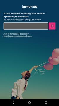 Jamendo In-Store Radio Poster