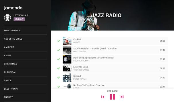 Jamendo In-Store Radio скриншот 10