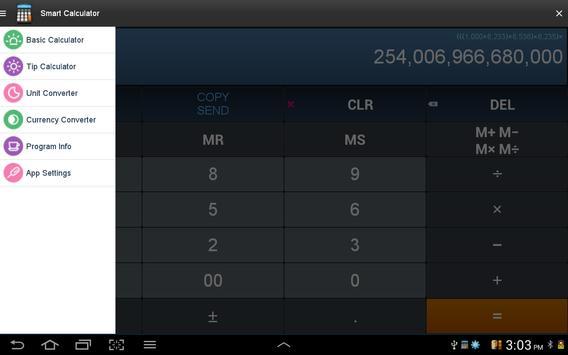 Calculatrice intelligente capture d'écran 10