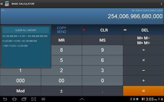 Calculatrice intelligente capture d'écran 11