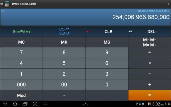 Calculatrice intelligente capture d'écran 8