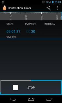 Contraction Timer screenshot 3