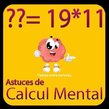 calcul mental poster