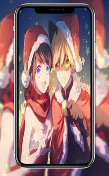 +100000 Christmas Anime Wallpaper poster
