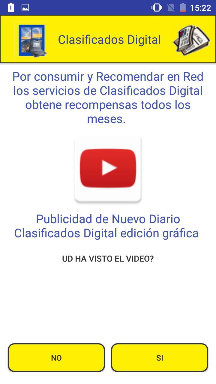 Clasificados Digital poster
