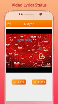 Video Lyrics Status screenshot 2