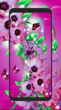 HD 3D Flower Wallpapers poster