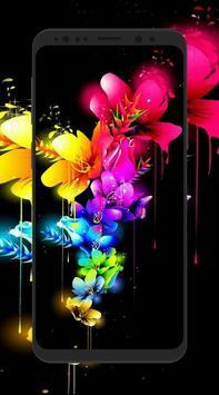 HD 3D Flower Wallpapers screenshot 6