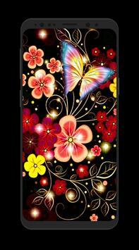HD 3D Flower Wallpapers screenshot 9