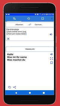 Translate Shqip Gjermanisht poster