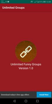 Unlimited Funny Group Links screenshot 1