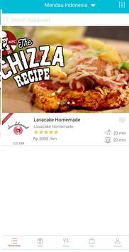 JAP Food - Layanan Pesan Antar Makanan screenshot 1