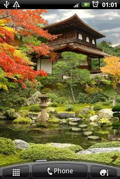 Autumn Zen Garden Free wallppr poster