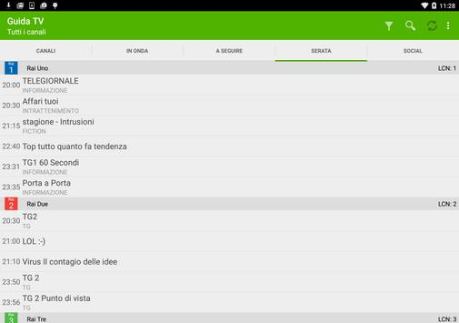 TV Guide Italy FREE screenshot 5