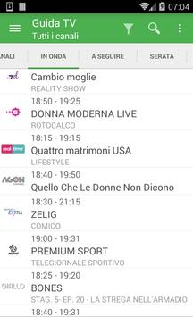 TV Guide Italy FREE screenshot 1