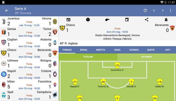 14 Schermata Tutto il Calcio