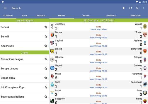 6 Schermata Tutto il Calcio