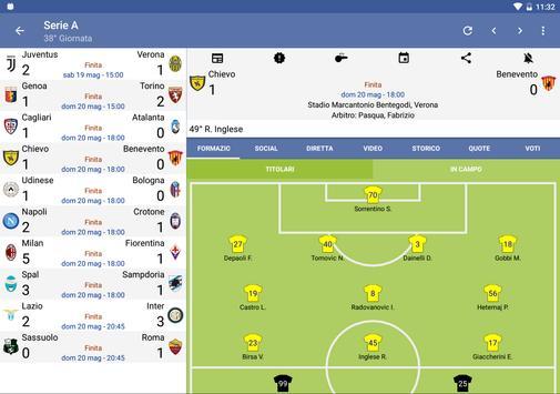 8 Schermata Tutto il Calcio