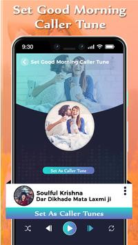 Set Good Morning Caller Tune Song screenshot 3