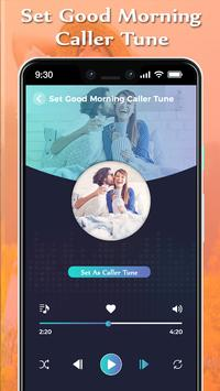 Set Good Morning Caller Tune Song screenshot 2