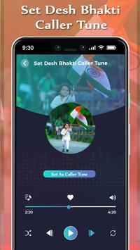 Set Desh Bhakti Caller Tune Song screenshot 2