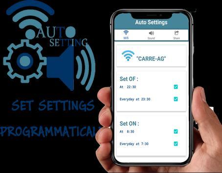 Auto settings screenshot 1