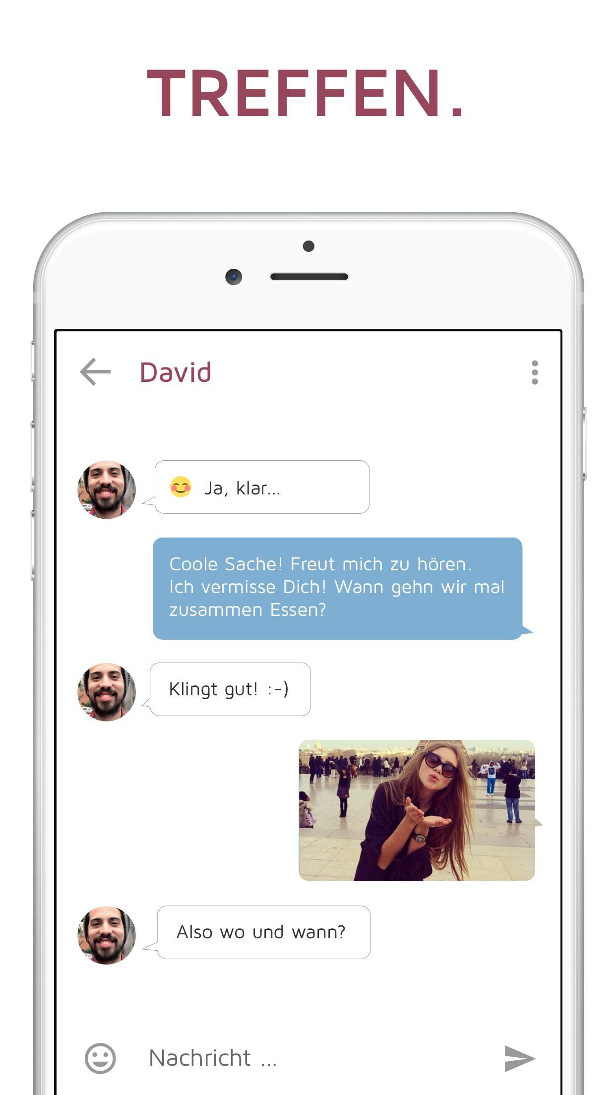 Mädchen fragen, bist du auf dating-app
