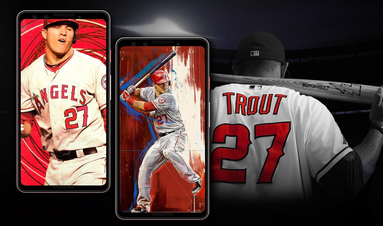 Mike Trout Wallpaper Hd For Android Apk Download