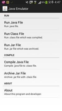Java Manager; Emulate Java Ekran Görüntüsü 2