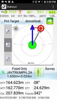 JAVAD Mobile Tools for authorised Receivers captura de pantalla 3