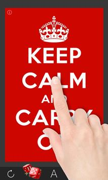 Keep Calm And ____? poster