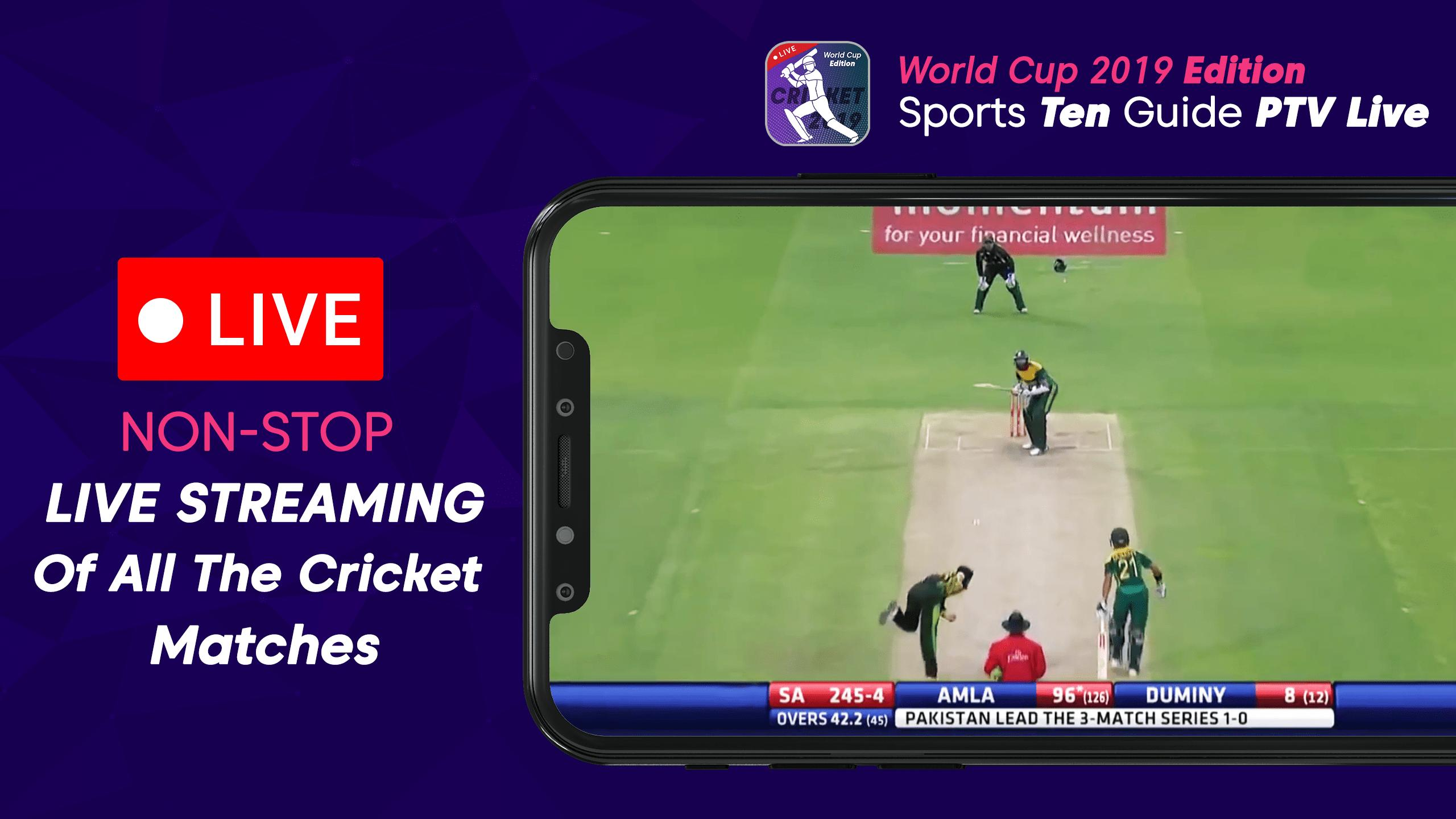 live streaming cricket software download