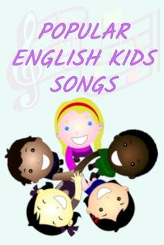 Popular English Kids Songs poster
