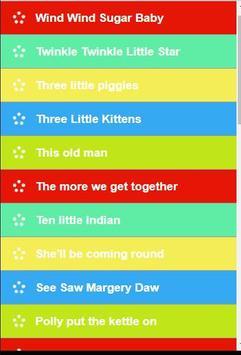Popular English Kids Songs screenshot 1