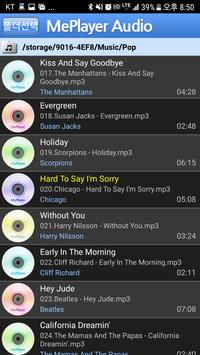 MePlayer Music captura de pantalla 1