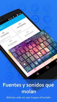 Teclado GO - Free emoticons, Emoji keyboard captura de pantalla 4