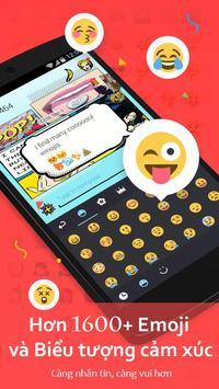 Bàn Phím GO-Bàn phím emoji, Vietnamese ảnh chụp màn hình 1