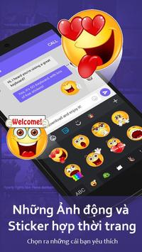 Bàn Phím GO-Bàn phím emoji, Vietnamese ảnh chụp màn hình 3