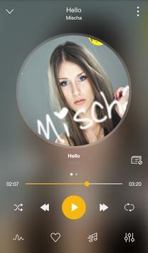 GO Music PLUS - Música gratis, radio, El jugador captura de pantalla 2