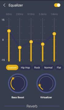GO Music PLUS - Música gratis, radio, El jugador captura de pantalla 6