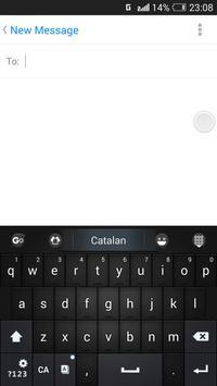 Catalan for GO Keyboard- Emoji screenshot 3
