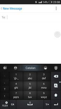 Catalan for GO Keyboard- Emoji screenshot 4