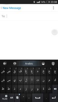 Língua Árabe - Teclado GO imagem de tela 2