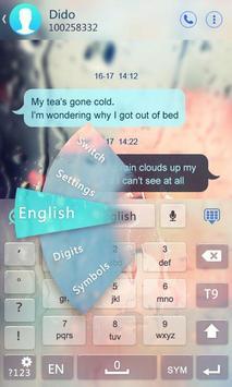 Danish for GO Keyboard - Emoji تصوير الشاشة 2