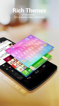 Hebrew for GO Keyboard - Emoji screenshot 1