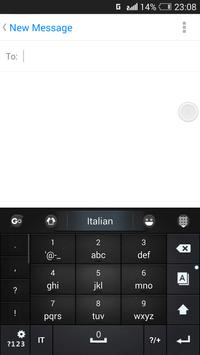 Italian for GO Keyboard- Emoji screenshot 3