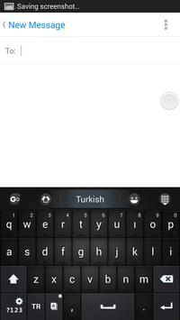 Turkish for GO Keyboard screenshot 3